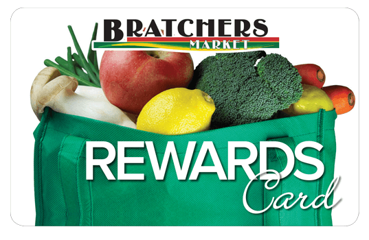Image of Bratcher's Rewards Card